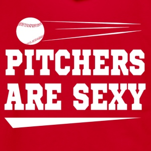 pitchers are sexy - Unisex Fleece Zip Hoodie by American Apparel