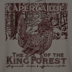 capercaillie_king_of_the_forest T-Shirts - Men's Hoodie