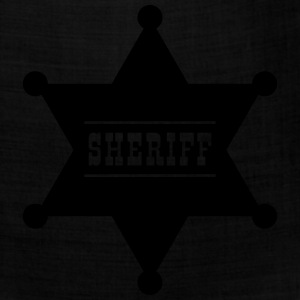 Sheriff's Star Kids' Shirts - Bandana