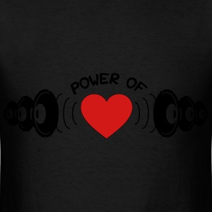 Power of Heart Bags & backpacks - Men's T-Shirt