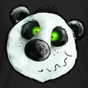 Cute Smiling Panda Bear - Cartoon  Hoodies - Men's Premium Long Sleeve T-Shirt