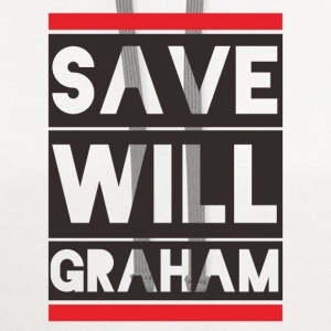 SAVE WILL GRAHAM T-Shirts - Contrast Hoodie