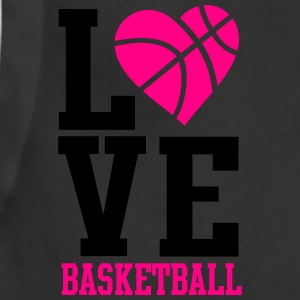love basketball heart word Women's T-Shirts - Adjustable Apron