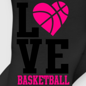 love basketball heart word Women's T-Shirts - Leggings