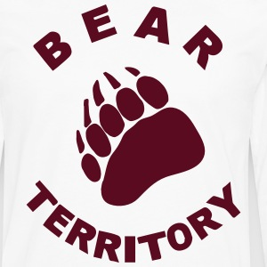 BEAR TERRITORY T-Shirts - Men's Premium Long Sleeve T-Shirt