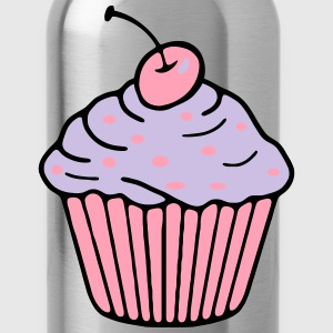 Cupcake Long Sleeve Shirts - Water Bottle