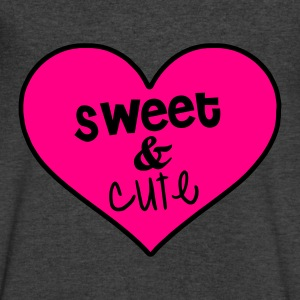 sweet & cute Long Sleeve Shirts - Men's V-Neck T-Shirt by Canvas