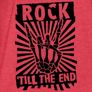 rock 'till the end Tanks - Fitted Cotton/Poly T-Shirt by Next Level