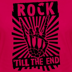 rock 'till the end Tanks - Women's Premium Long Sleeve T-Shirt