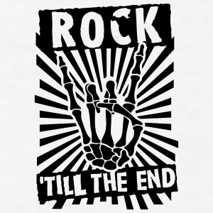 rock 'till the end Bottles & Mugs - Men's T-Shirt