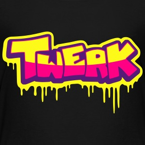 Twerk graff Sweatshirts - Toddler Premium T-Shirt