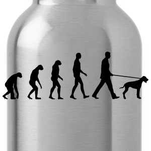 Evolution dog T-Shirts - Water Bottle