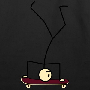 Handstand Skateboarding T-Shirts - Eco-Friendly Cotton Tote