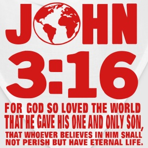 JOHN 3:16 FOR GOD SO LOVED THE WORLD T-Shirts - Bandana