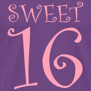 SWEET 16 Hoodies - Men's Premium T-Shirt