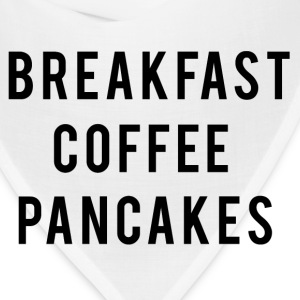 Breakfast coffee pancakes Women's T-Shirts - Bandana