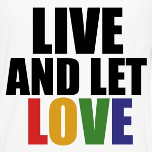 Live and let LOVE - Men's Premium Long Sleeve T-Shirt