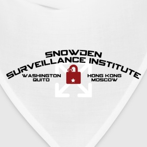 SNOWDEN SURVEILLANCE INSTITUTE (spoof) T-Shirts - Bandana