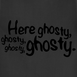 Here Ghosty Ghosty T-Shirts - Adjustable Apron