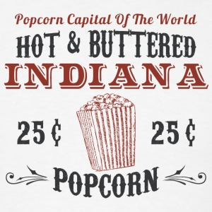 Indiana Popcorn Hoodies - Men's T-Shirt