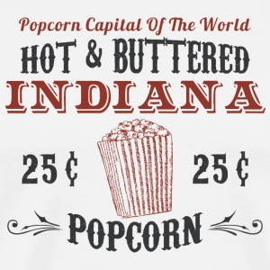 Indiana Popcorn Hoodies - Men's Premium T-Shirt