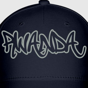 Rwanda Graffiti Outline T-Shirts - Baseball Cap