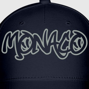 Monaco Graffiti Outline T-Shirts - Baseball Cap