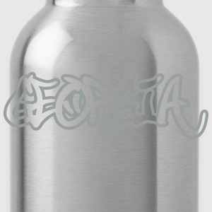 Georgia Graffiti Outline T-Shirts - Water Bottle