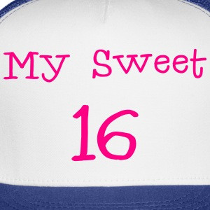 My sweet 16 Sixteen Birthday 1c Hoodies - Trucker Cap