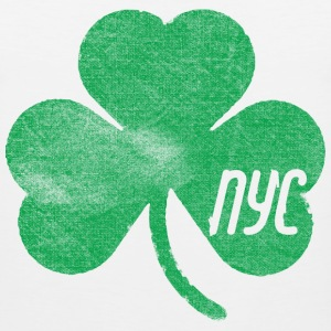 NYC Shamrock  T-Shirts - Men's Premium Tank