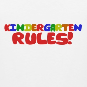 Kindergarten Rules - Men's Premium Tank