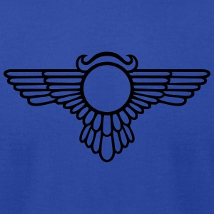 Winged Globe, symbol of the perfected soul Tanks - Men's T-Shirt by American Apparel