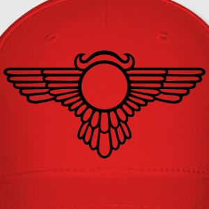Winged Globe, symbol of the perfected soul T-Shirts - Baseball Cap