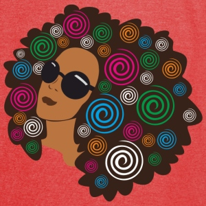 Big Bold Afro Bags & backpacks - Vintage Sport T-Shirt