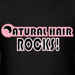 Natural Hair Rocks Bags & backpacks - Men's T-Shirt