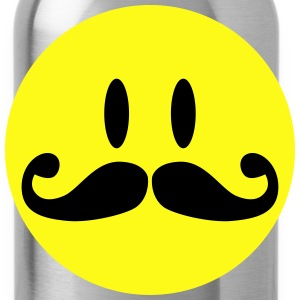 Mustache Smiley Tanks - Water Bottle
