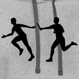 Relay race T-Shirts - Contrast Hoodie