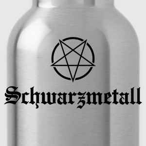 Schwarzmetall - German for Black Metal No.1 Kids' Shirts - Water Bottle