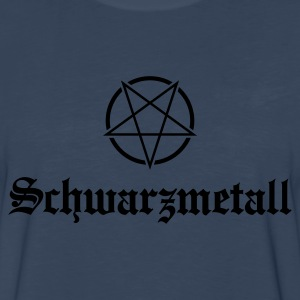 Schwarzmetall - German for Black Metal No.1 Kids' Shirts - Men's Premium Long Sleeve T-Shirt