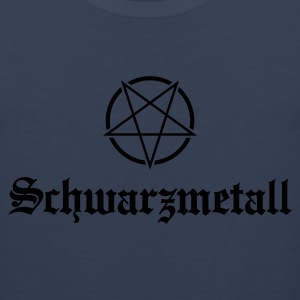 Schwarzmetall - German for Black Metal No.1 Kids' Shirts - Men's Premium Tank