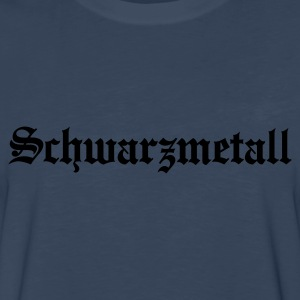 Schwarzmetall - German for Black Metal (only) No.1 Kids' Shirts - Men's Premium Long Sleeve T-Shirt