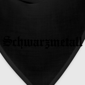 Schwarzmetall - German for Black Metal (only) No.1 Women's T-Shirts - Bandana