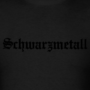Schwarzmetall - German for Black Metal (only) No.1 Long Sleeve Shirts - Men's T-Shirt