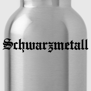 Schwarzmetall - German for Black Metal (only) No.1 Long Sleeve Shirts - Water Bottle