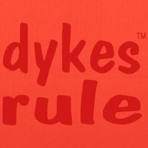 dykes rule Women's T-Shirts - Tote Bag