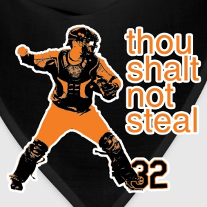 Matt Wieters: Thou Shalt Not Steal Women's Tee - Bandana