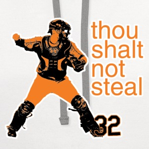 Matt Wieters: Thou Shalt Not Steal Kid's Shirt - Contrast Hoodie
