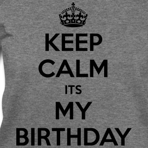 Keep Calm Its My Birthday - Women's Wideneck Sweatshirt