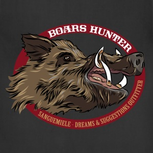 boars_hunter T-Shirts - Adjustable Apron