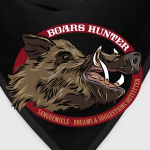 boars_hunter T-Shirts - Bandana